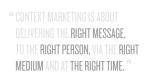Context-Based Marketing